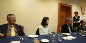 北沢様(左手前)は「能」のお話